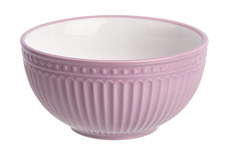 Available from 10.11 Salad bowl Pastel light - lilac Elan Gallery 160046