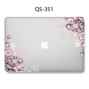 Image 2 - Новый чехол для ноутбука, хит продаж, для Macbook 13,3 15,6 дюймов, для MacBook Air Pro retina 11 12 13 15,4, с защитной клавиатурой, в подарок