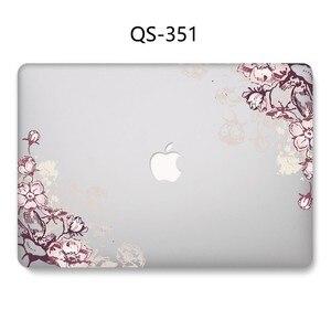 Image 2 - Yeni Laptop Case Için Sıcak Macbook 13.3 15.6 Inç MacBook Hava Pro Retina 11 12 13 15.4 Ekran koruyucu Klavye Kapağı Hediye