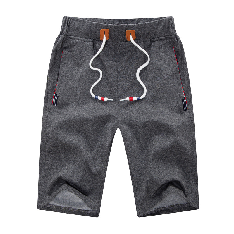 2019 Solid Men's Shorts 5XL Summer Mens Beach Shorts Cotton Casual Male Shorts Homme Brand Clothing Wholesale