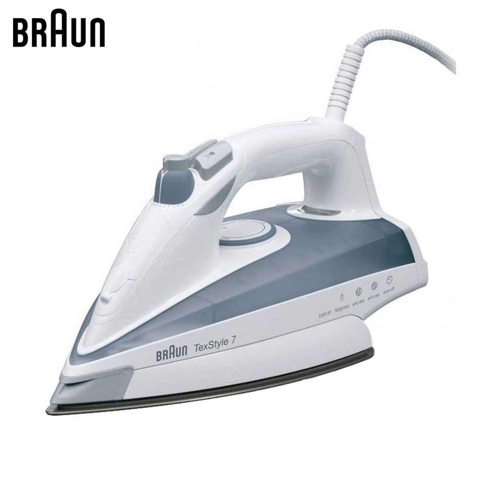 Electric Irons Braun TexStyle 7 TS705A steam iron steamer electric irons braun texstyle 5 ts535 tp steam iron steamer
