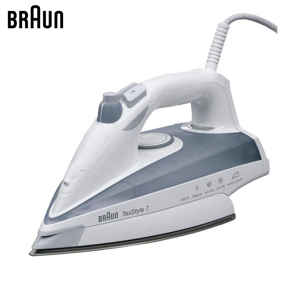 Electric Irons Braun TexStyle 7 TS735 TP steam iron steamer