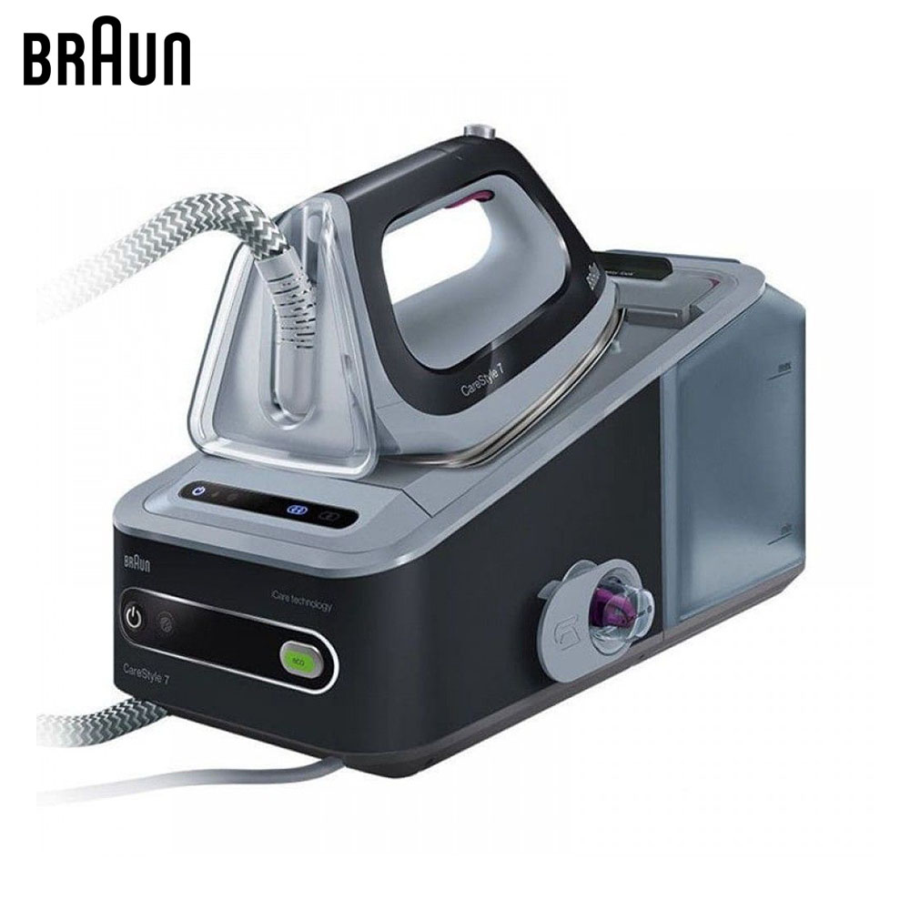 Electric Irons Braun CareStyle 7 IS7044 BK steam iron steamer smad 2l 110v vertical garment fabric steamer home portable 45s heat up electric iron steam steamer brush for clothes