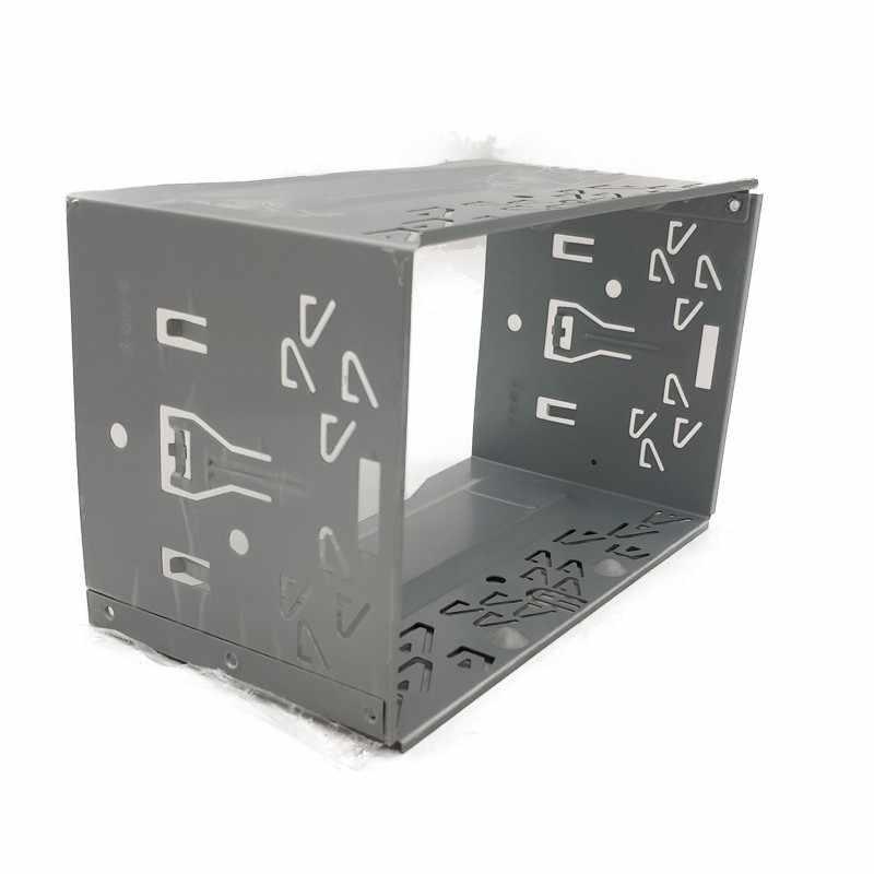 2Din 継手キットラジオヘッドユニットインストールフレーム一般的な 2Din 継手キット自動車ラジオプレーヤーボックス