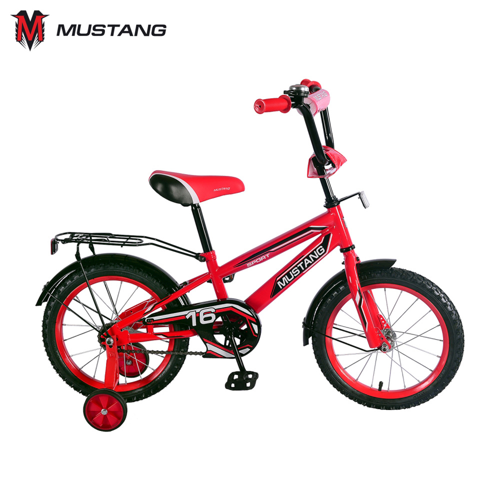 Bicycle Mustang 265174 bicycles teenager bike children for boys girls boy girl ST16041-NT