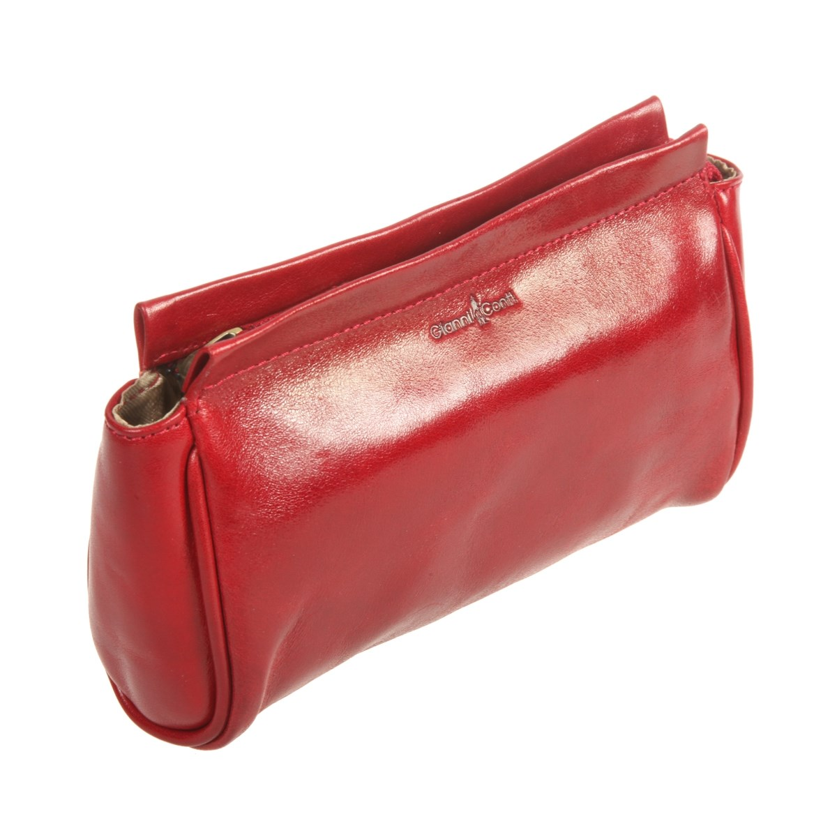 Make Up Bag Gianni Conti 9405197 red portable canvas flower floral cosmetic bag travel toiletry wash makeup storage bags organizer make up case for women