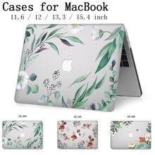 חדש מקרה נייד עבור Apple Macbook 13.3 15.6 אינץ עבור MacBook רשתית 11 12 13 15.4 עם מסך מגן מקלדת קוב