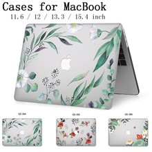 Nueva funda de portátil para Apple Macbook 13,3 15,6 pulgadas para MacBook Air Pro Retina 11 12 13 15,4 con Protector de pantalla Teclado Cove