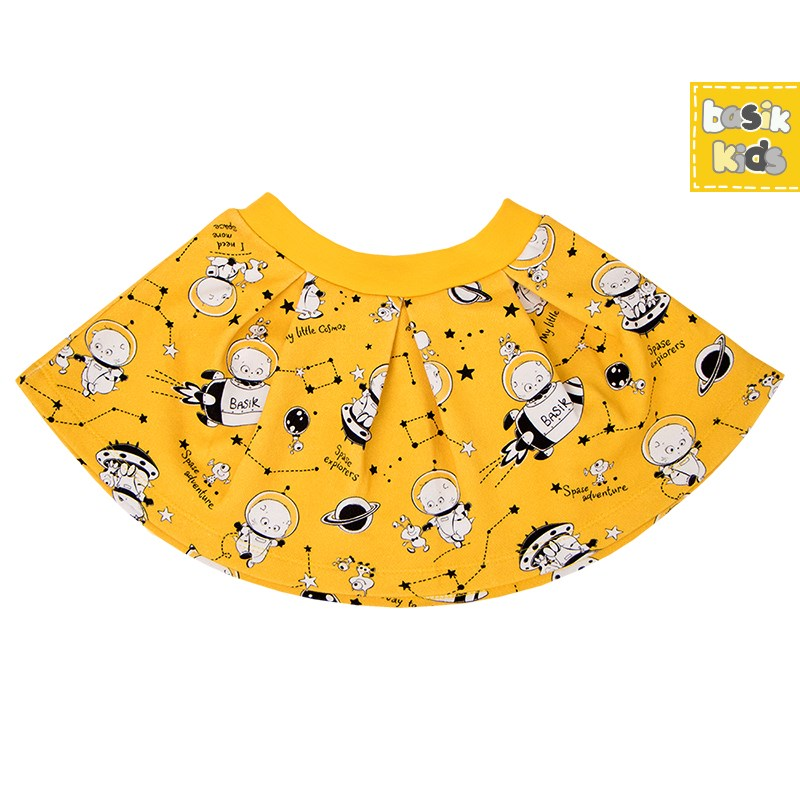 Skirt flared yellow kids clothes children clothing цена 2017