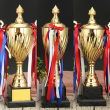 Best Championship Trophy League Cup Trofeos Metal Customized Souvenir And Crafts Free Custom Text And Logo Trophies And Awards crystal trophies and awards customized basketball football golf tennis logo champions league cup trophy souvenirs