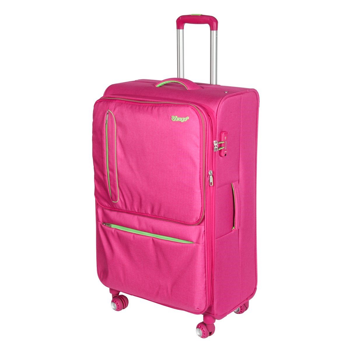 Suitcase-trolley Verage GM16014W28 Rose Red