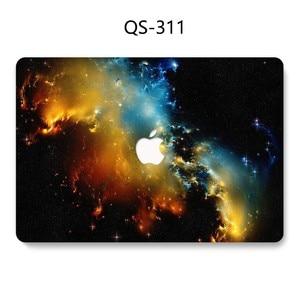 Image 4 - Dla MacBook Air Pro Retina 11 12 13 15.4 torba na laptopa etui na Macbooka 13.3 15.6 Cal z osłoną ekranu klawiatura Cove gorący prezent