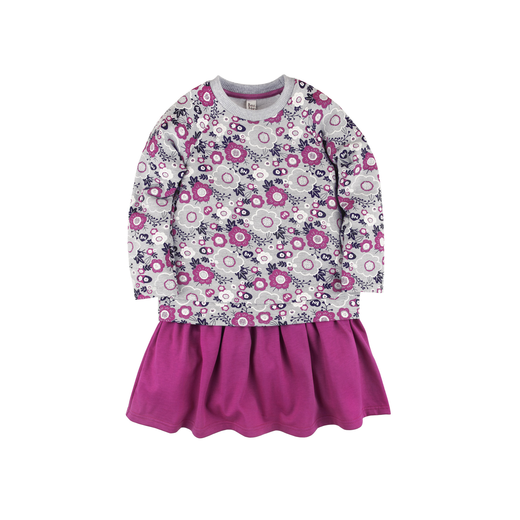 Children Girl's Dress Bossa Nova 147B-487 Purple kid clothes children clothing stay naive girl dress spring summer 2018 fashion children s clothing children s flower dress cotton princess costume