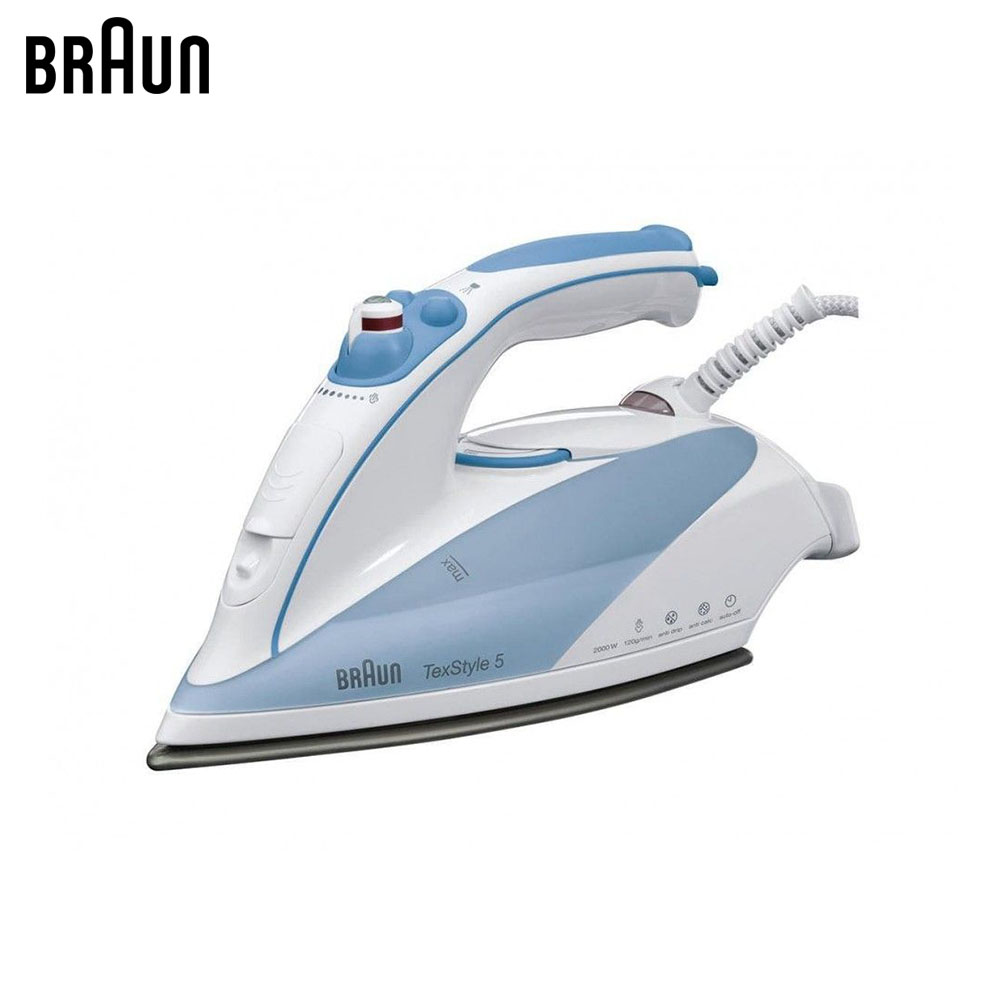 Electric Irons Braun TexStyle 5 TS525 A steam iron steamer electric irons braun texstyle 5 ts535 tp steam iron steamer