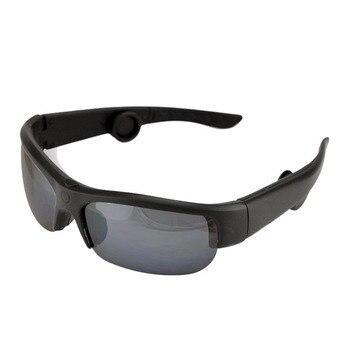 Buena calidad de conducción ósea gafas de sol de voz inteligente guía Auriculares auriculares Bluetooth Replaceable Lens Auto conducción sudor P