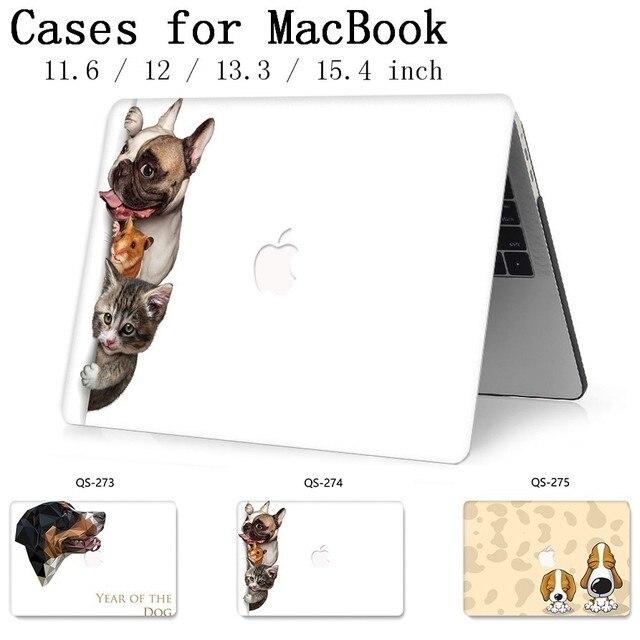 新しいノートブック Macbook Air のプロ網膜 11 12 13 15.4 13.3 インチスクリーンプロテクターキーボードのためのホットラップトップケース