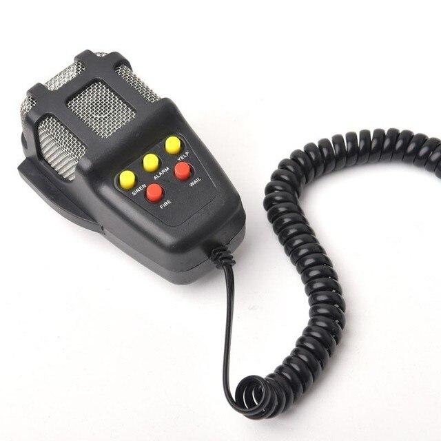 DC 12V 100W 5 dźwięk dźwięk głośny klakson syrena policja strażacy pogotowia alarm ostrzegawczy głośnik motocykl samochód Auto pojazd ciężarówka