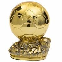 2018 Ballon D'Or Trophies Football Golden Ball Award Trofei Calcio World's Best Player MVP Soccer Fans Craft Souvenir Home Decor
