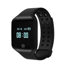 Smart Bracelet Z66 Waterproof Pedometer Men Band Heart Rate Blood Pressure Monitor Sport Sleep Tracker Watch цена и фото