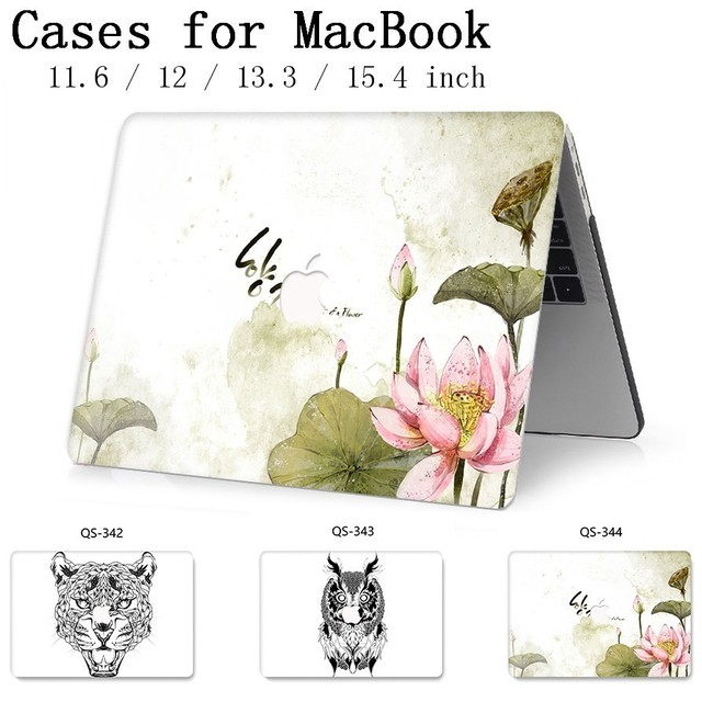 New Laptop Case For Macbook 13.3 15.6 Inch For Hot MacBook Air Pro Retina 11 12 13 15.4 With Screen Protector Keyboard Cove Gift