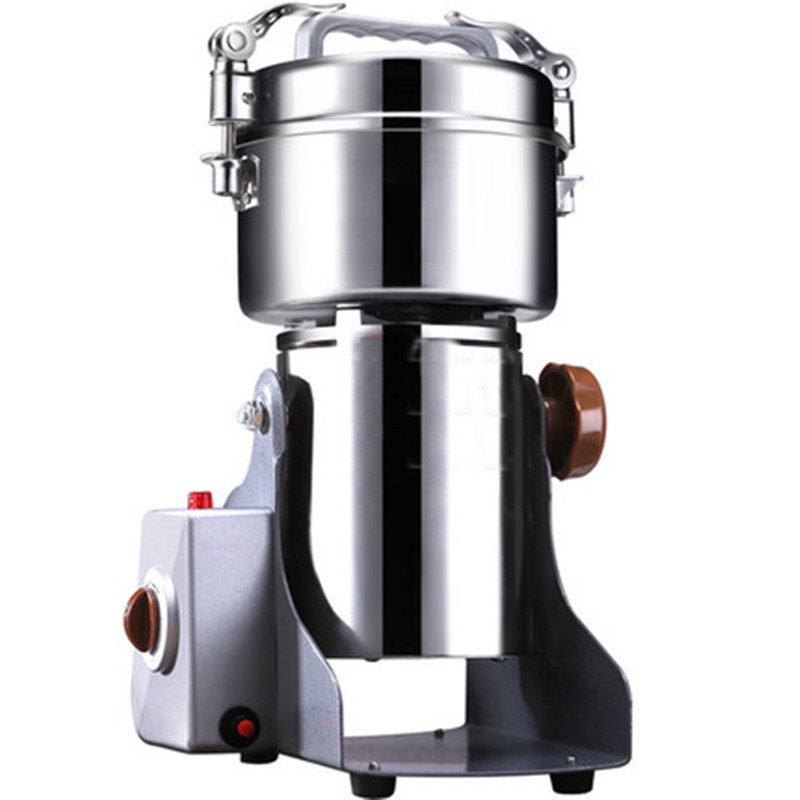 Household 220 V Small Kitchen Grain Mill Grinding Machine Superfine Dry Powder Milling Sanqi 3000 W