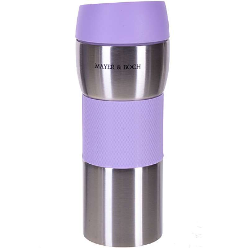 Thermotasse MAYER & BOCH, 450 ml, violet