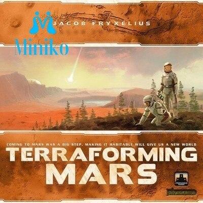 Terraformer Mars Conseil Jeu Cartes Jeu 1-5 Joueurs À Jouer Meilleur Cadeau Fête de Famille Drôle Gadgets Nouveauté Jouets