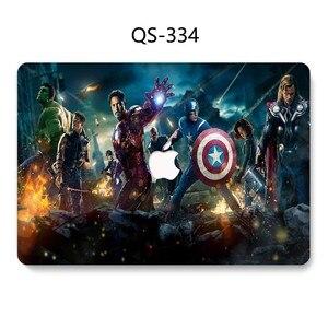 Image 3 - Caso Laptop Para Novo Macbook 13.3 15.6 11 12 13 Polegada Para MacBook Air Pro Retina 15.4 Com Protetor de Tela teclado Enseada Presente Hot
