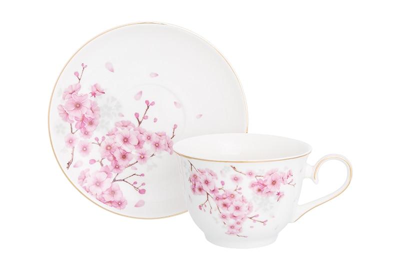 Available from 10.11 Tea pair Blooming Sakura 2 items Elan Gallery 181149 181149