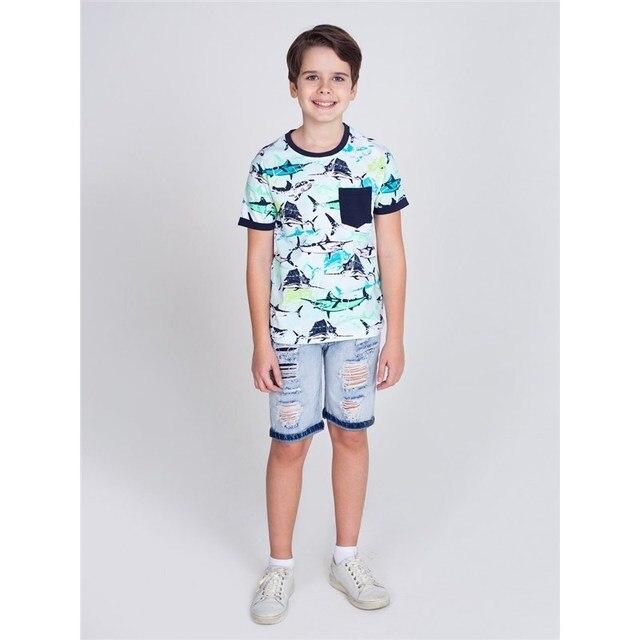 Шорты джинсовые Luminoso для мальчиков