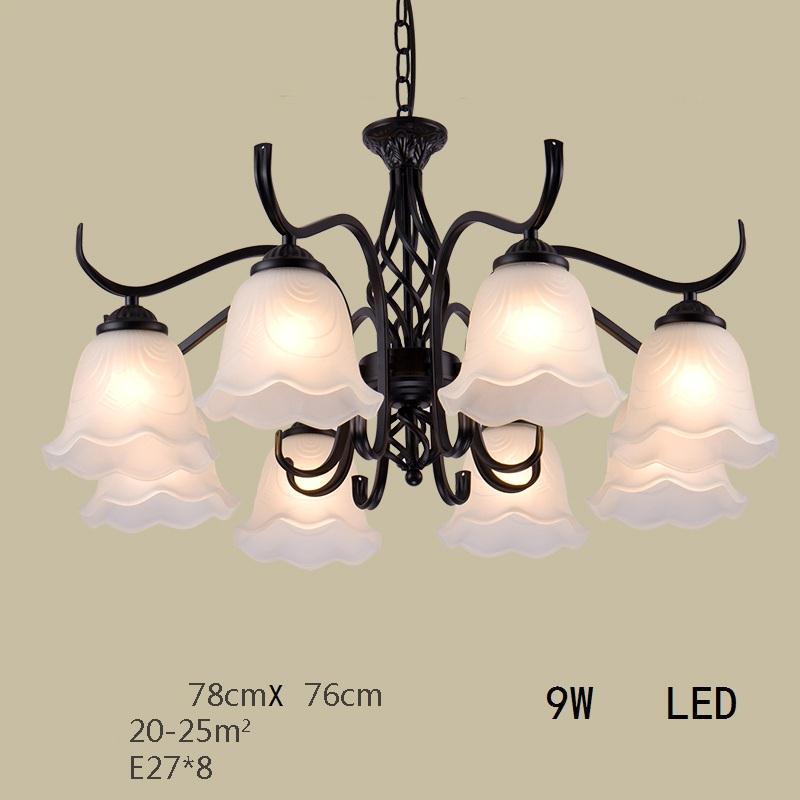Chandelier European Vintage De Techo Moderna Flesh Light Suspension Hanging Lamp Lampara Colgante Luminaire Suspendu Hanglamp in Pendant Lights from Lights Lighting