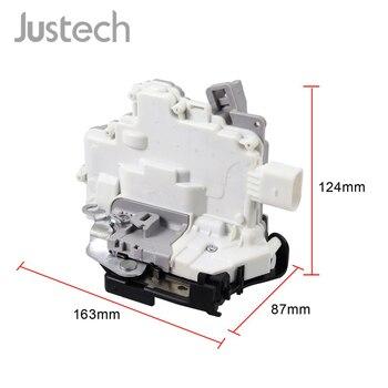 Justech 1P1837016 Mecanismo de Fechadura Da Porta Dianteira Direita Do Carro Para O Banco Poder Door Lock Atuador Trava do Lado Direito do Passageiro