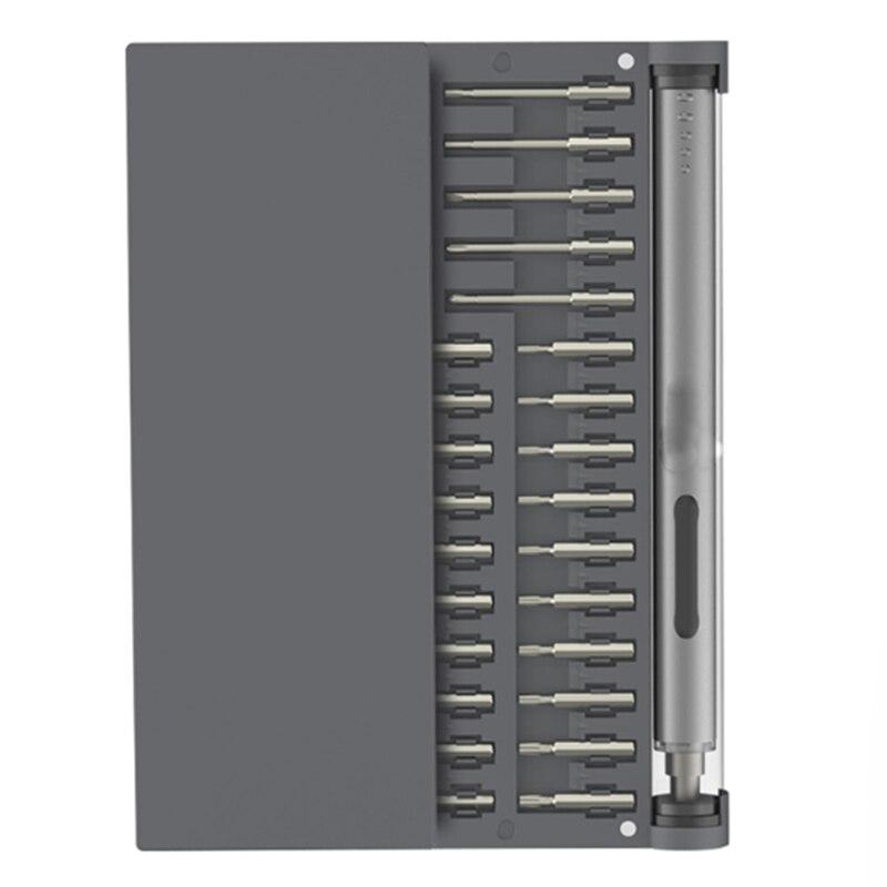 Chaude 1 P Pro Mini Sans Fil Électrique Puissance Batterie Tournevis Pour Téléphone Xbox Rc Jouets Caméra Réparation Précise Outil 1/8 pouces Bits