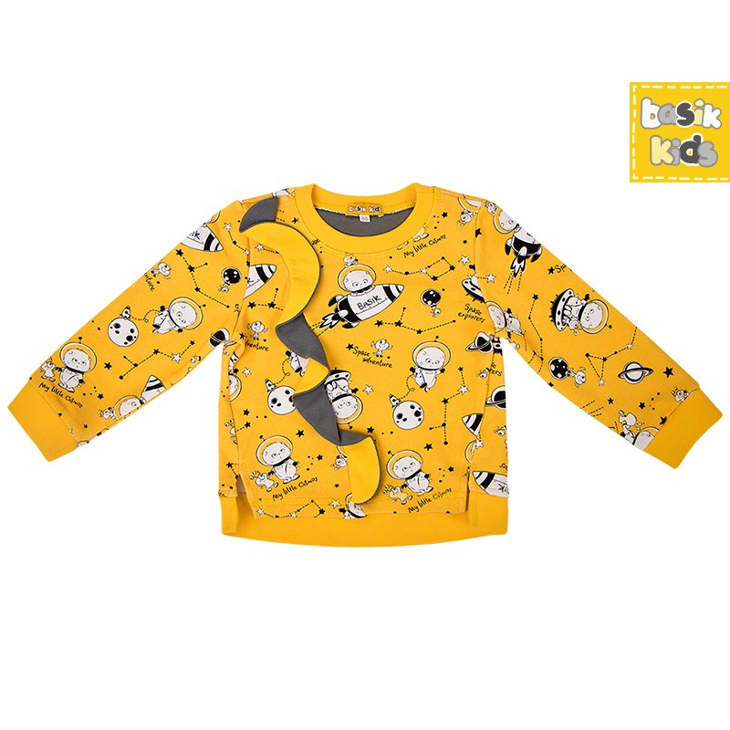 Basik Kids Blouse yellow kids clothes children clothing цена и фото