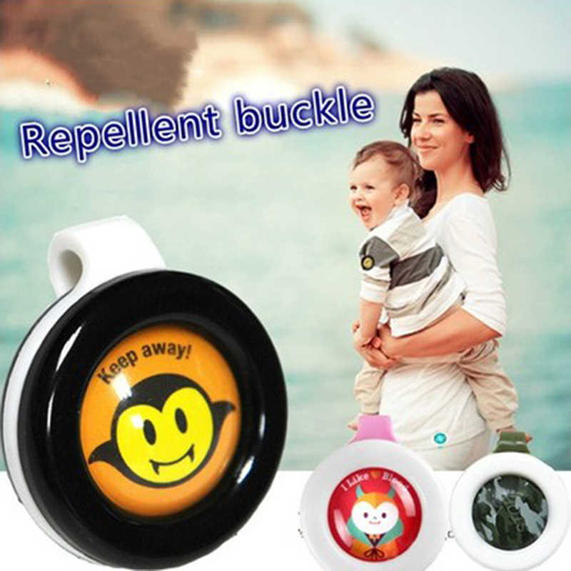 Child Anti Mosquito Repellent Bracelet Stickers Baby Pregnant Mosquito Pest Reject Control Buttons Mosquito Killer Random