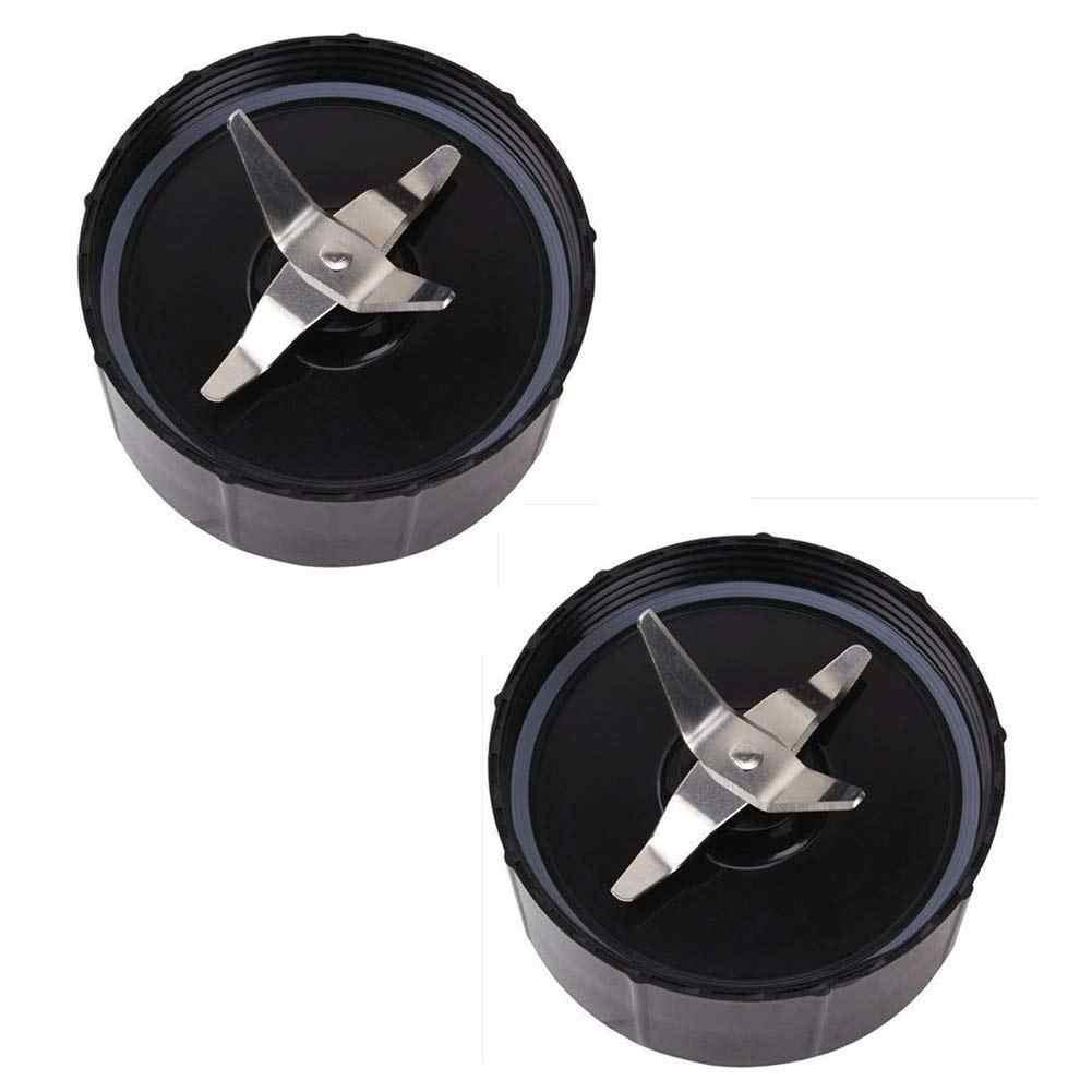 Pacote de 2, Cruz Lâmina Parte Substituição Compatível Com Original Magia 250 W Liquidificador Processador de Alimentos, juicer Mixer e (Modelo M