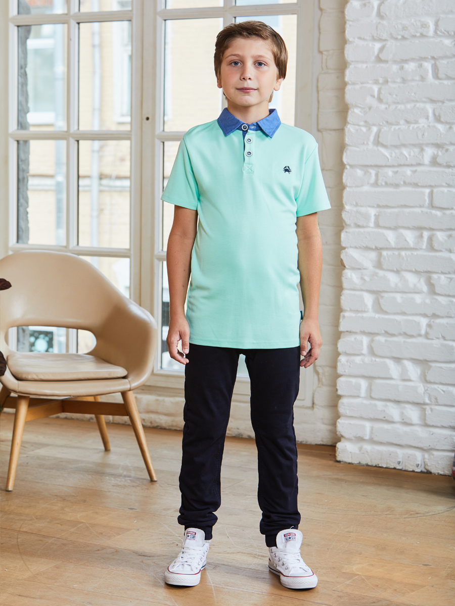 Cardigan knitted with Collar polo shirts for boys rust v neck long sleeves knitted t shirts