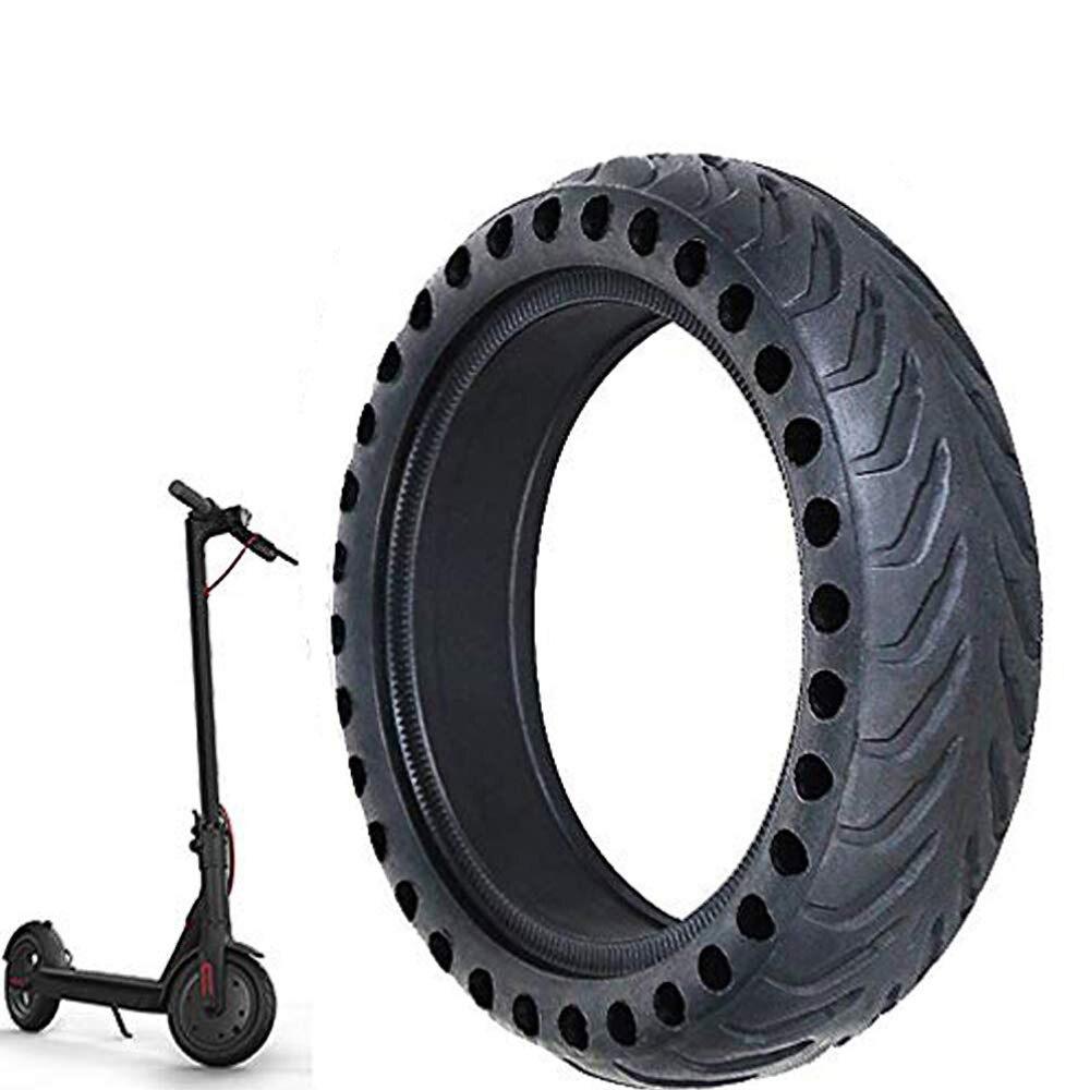 2 Pcs Elektrische Roller Waben Reifen Hohe Leistung Anti Punktion Skate Rad Reifen Vorne Hinten Ersatz Reifen Für Xiaomi