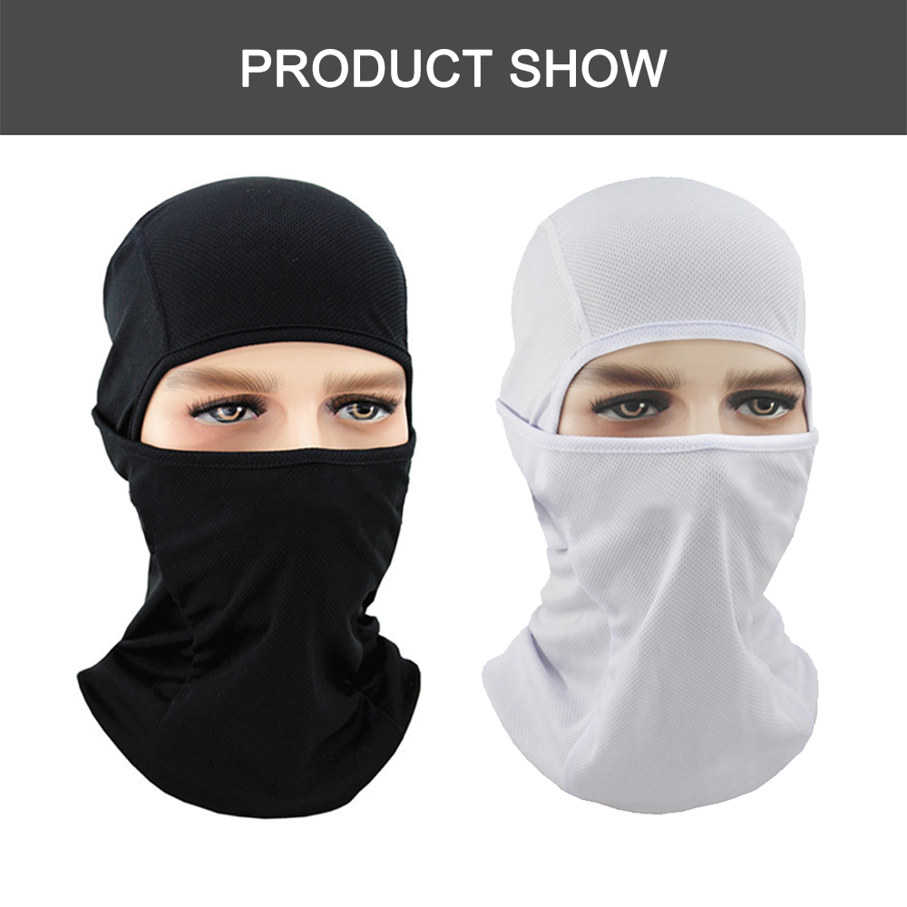 Image 3 - WOSAWE Motorcycle Balaclava Full Face Mask Breathable Airsoft Paintball Cycling Ski Shield Anti UV Men Sun Hats inside Helmet-in Protective Gears Accessories from Automobiles & Motorcycles