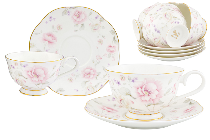 Available from 10.11 Tea set Giselle 12 items Elan Gallery 530060