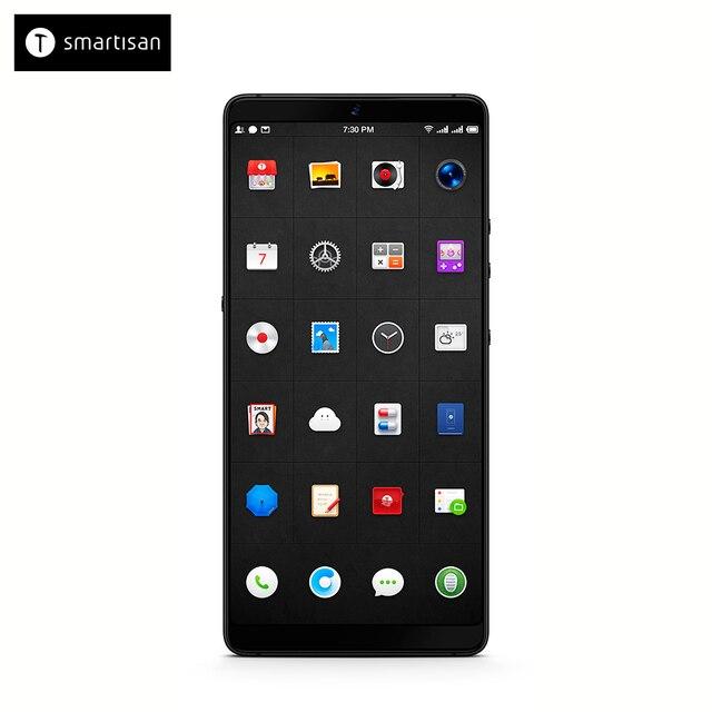 """Смартфон Smartisan U3 Pro 4+64G Carbon отличный экран 5,99"""" с разрешением 2160x1080, превосходная камера 12Мп, емкость аккумулятора 3500А/ч"""