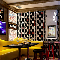 3d Wallpaper Ktv Stereo Personality Fashion Flash Wall Cloth Bar Hotel Fancy Ball Room Box Theme Wallpaper