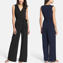 Backless Summer Women Ladies Jumpsuit Clubwear Trousers Romper Playsuit Bodycon Party