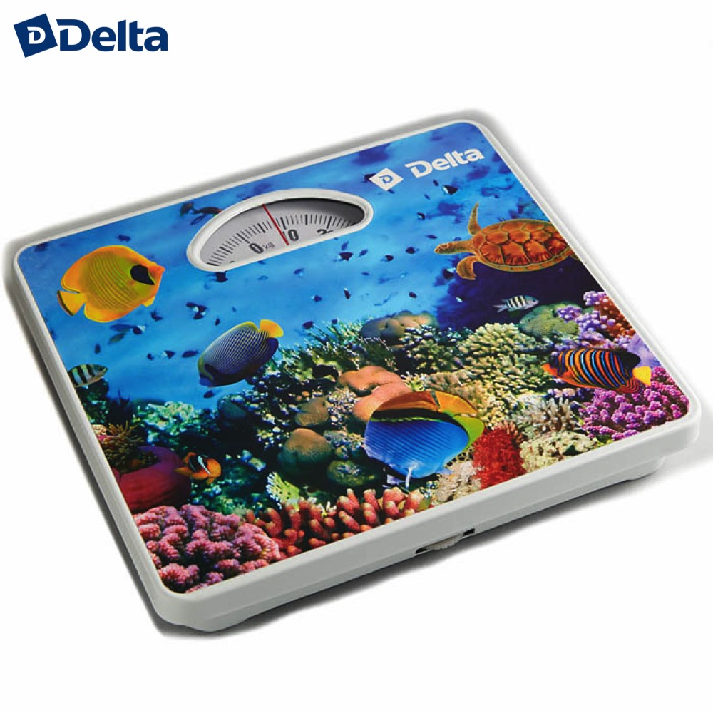 Bathroom Scales Delta D-9402 Household supplier products outdoor mechanical weighing weight luxury golden plated finish toilet brush holder with ceramic cup household products bath decoration bathroom accessories