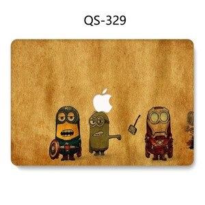 Image 4 - Горячая сумка для ноутбука чехол для Macbook 13,3 15,6 дюймов для MacBook Air Pro retina 11 12 13 15,4 с защитой экрана клавиатуры в подарок
