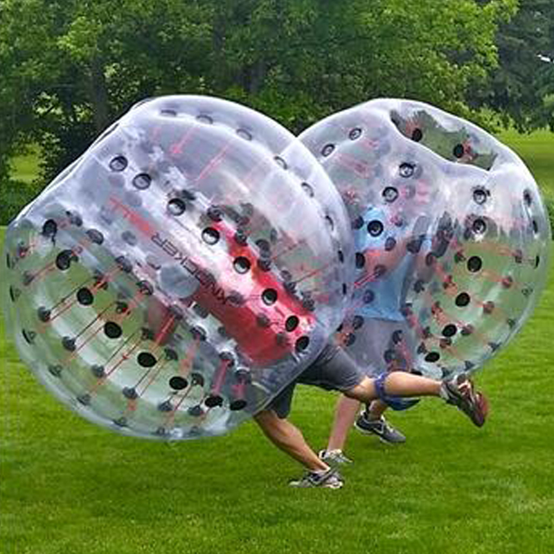 Air Bubble Soccer Zorb Ball 170cm Air Bumper Ball Inflatable Body Zorb Bubble Ball Football Kids Outdoor Toy Christmas Gift - 1