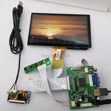 Monitor disp7 pollici touch display suite di modulo 1024X600 supporta Linux/android/win7810 plug and play hd display accessori FAI DA TE