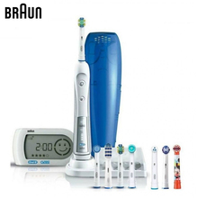 Электрическая зубная щетка Braun Oral-B Triumph 5000 D34.575.5X + SMART GUIDE 3D