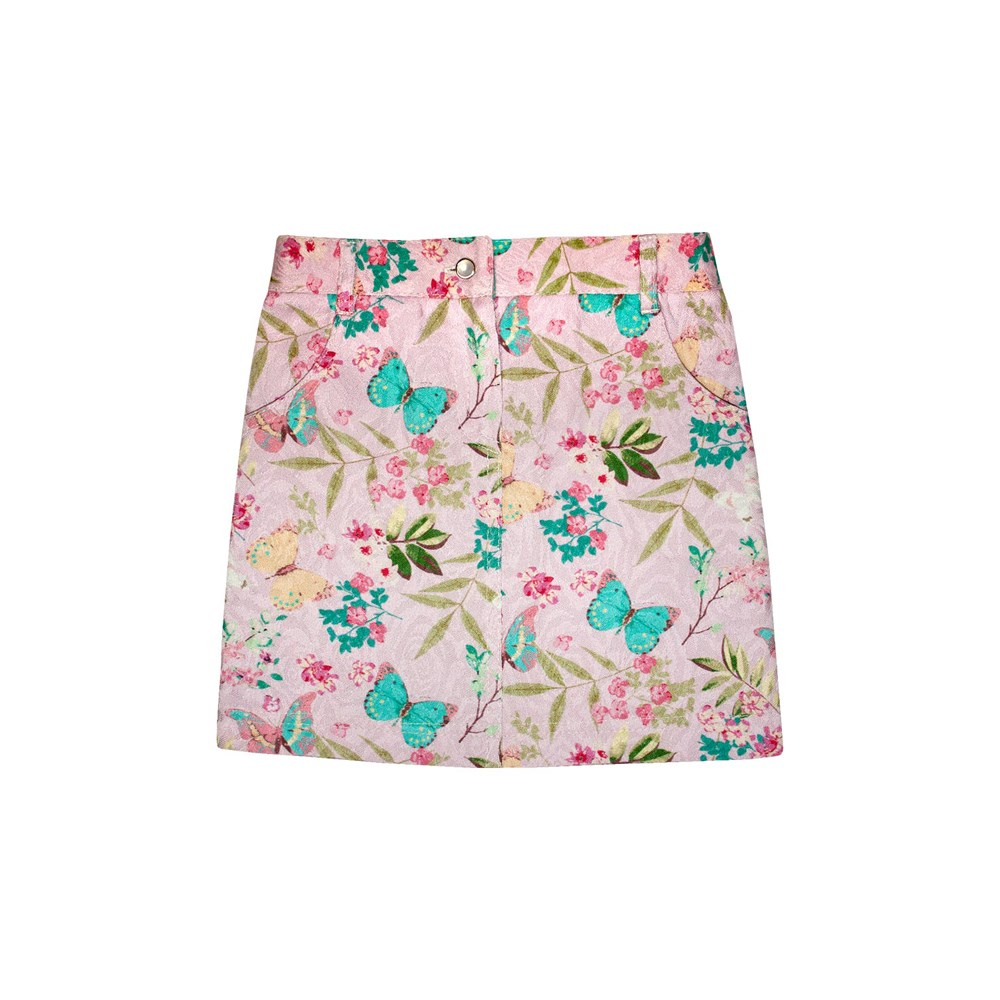 Skirt Jacquard straight M kids clothes children clothing цена и фото