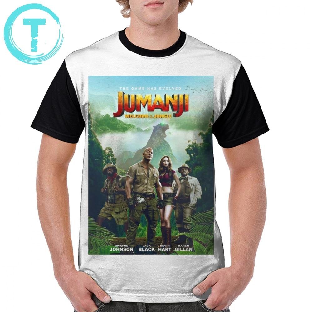 Jumanji T Shirt Jumanji T-Shirt Streetwear Polyester Graphic Tee Shirt Mens Short Sleeve Plus size Graphic Cute Tshirt